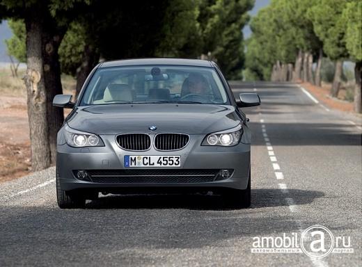 Автомобили SUV и пикапы сокрушили безопасность BMW Серия 5