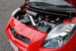 Моторное отделение автомобиля Toyota Vitz TRD Turbo M.