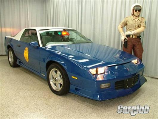 Эксклюзивный полицейский Chevrolet Camaro COPO Z/28