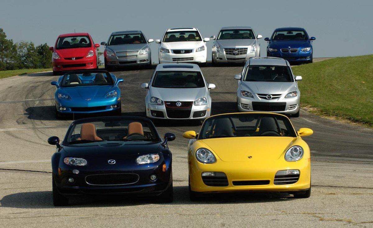 В десятку лучших автомобилей вошли только «японки»