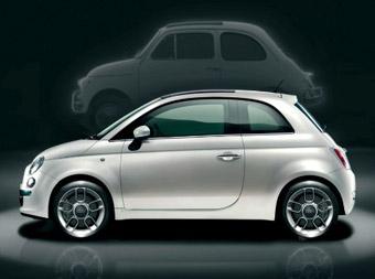 Fiat 500. Фото Fiat