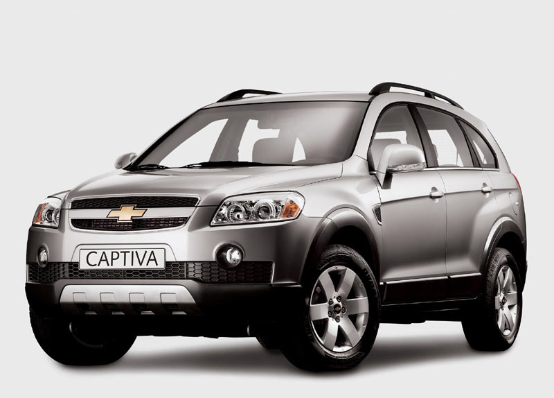 Opel Antara vs Chevrolet Captiva. Незачет