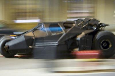 3. Batmobile, «Бэтмен. Начало» 350 км/ч