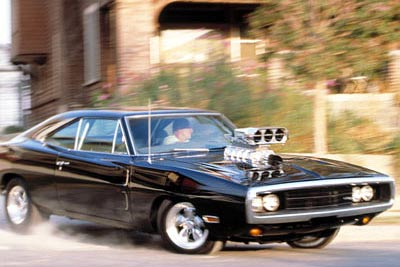 4. Dodge Charger, «Форсаж» 350 км/ч