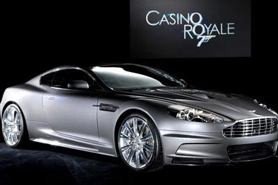 8.Aston Martin DB9, «Казино Рояль» 305 км/ч