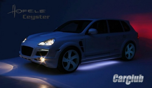 Porsche Cayenne от Hofele