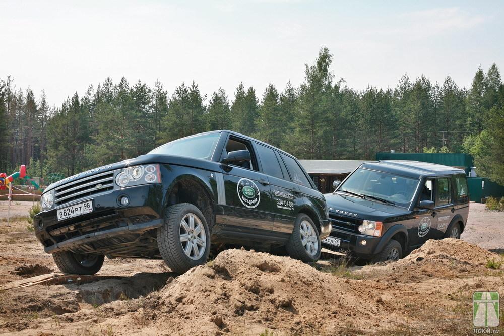 «Land Rover Day»: Тренировочный день