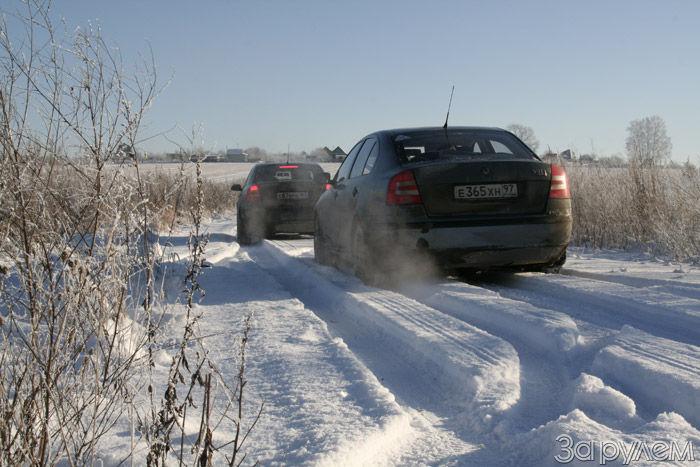 Тест зимних шин Nokian HKPL5 (шипы) и Michelin X-Ice (нешипы)