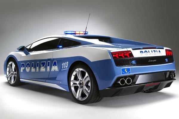 Lamborghini Gallardo LP560-4 для итальянской полиции (16 фото)