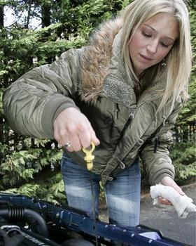 Даже в бесснежную зиму, мотору лучше залить более жидкое масло