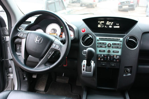 Honda Pilot: размер – не главное