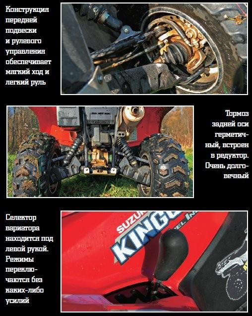 Утилитарные квадроциклы Suzuki
