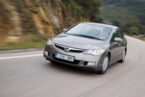 Honda Civic Hybrid – для любителей природы