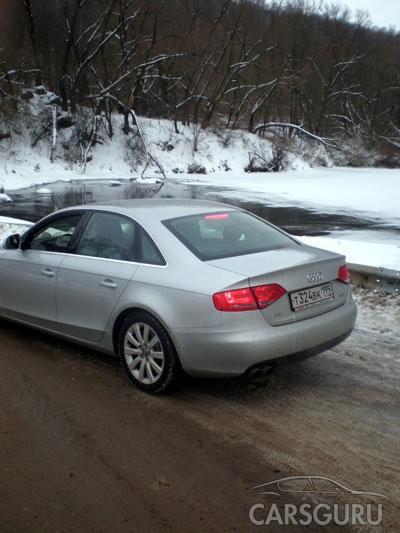 Тест новой Audi А4