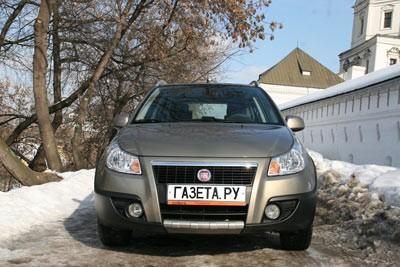 Fiat Sedici. В погоне за репутацией