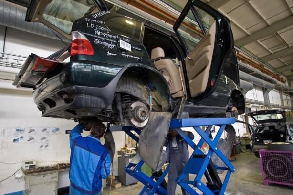 Автомобильный триллер: как BMW утилизирует свои старые авто