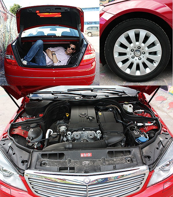 Mercedes-Benz C180K: скромное обаяние буржуазии