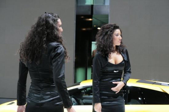 Франкфурт 2009: девушки моторшоу (54 фото)