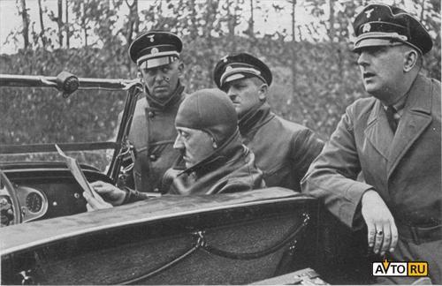 По Москве будет ездить Mercedes Гитлера