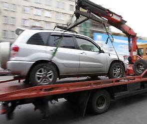 Начались аресты авто за неуплату налога