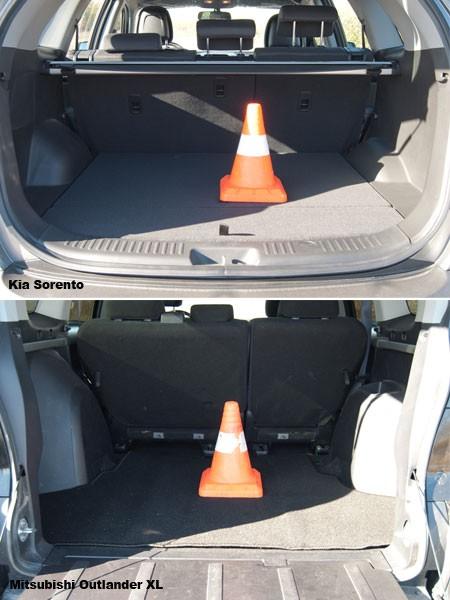 Тест-драйв Kia Sorento и Mitsubishi Outlander XL