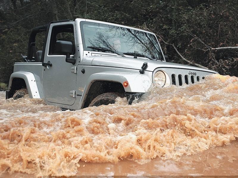 Тест-драйв Jeep Wrangler: Wrangler, Wrangler Unlimited
