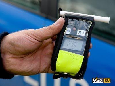 В России отменят минимальную норму алкоголя в крови водителя