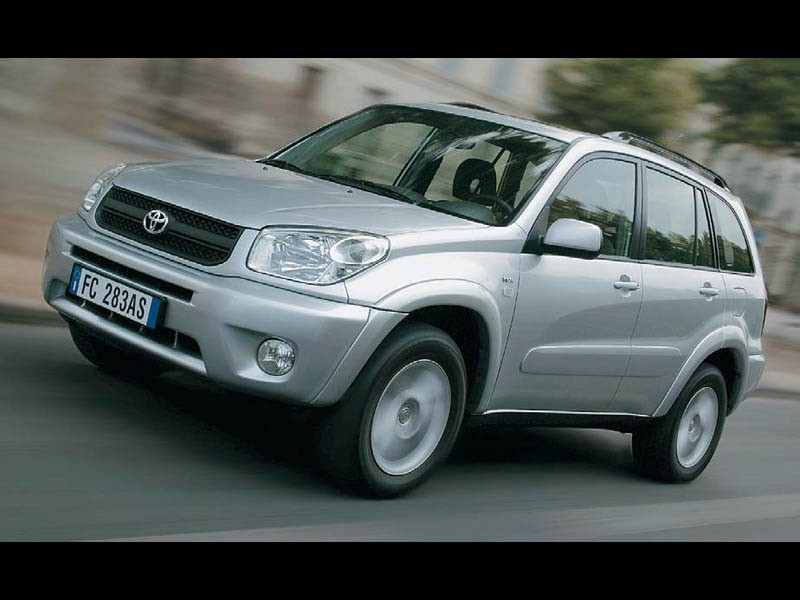 Вторичный рынок Toyota RAV4