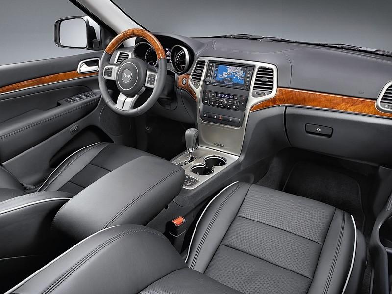 Тест-драйв Jeep Grand Cherokee: Grand Cherokee (2010)