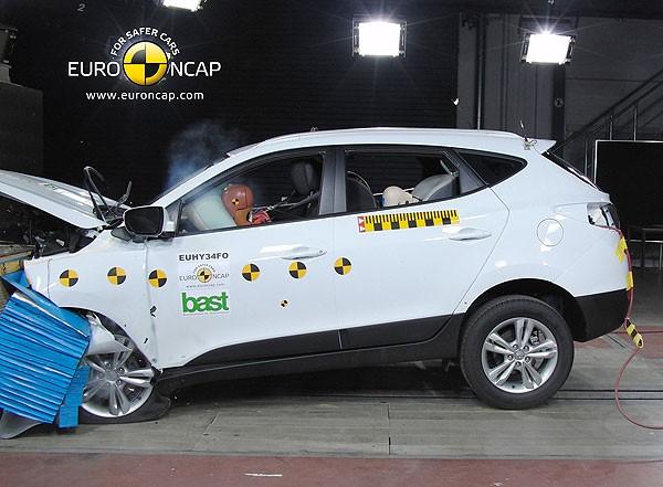 Hyundai ix35: компактный и безопасный