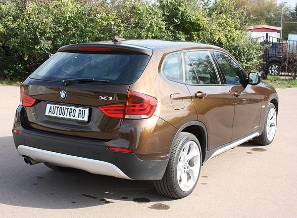 BMW X1: городское многоборье