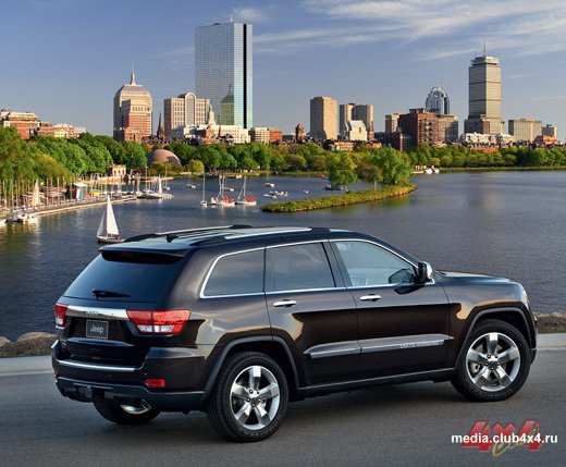Обновленный модельный ряд компании Jeep