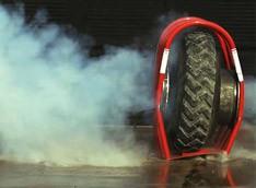 Взрыв шины в замедленном действии