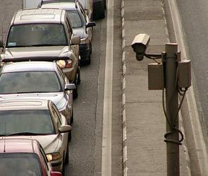 Обнародованы данные, где расположены камеры системы фиксации нарушений ПДД в столице