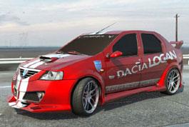 Обвесы на Renault Logan