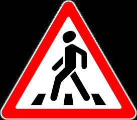 Знак 1.22 Пешеходный переход