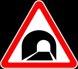 Знак 1.31 Тоннель
