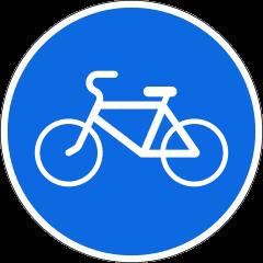 Знак 4.4.1 Велосипедная дорожка