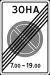 Знак 5.28 Конец зоны с ограничением стоянки