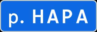 Знак 6.11 Наименование объекта
