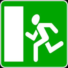 Знак 6.20.1 Аварийный выход