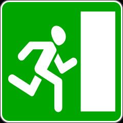 Знак 6.20.2 Аварийный выход