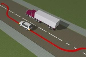 Водитель закончил маневр на сплошной полосе, хотя начинал с прерывистой полосы