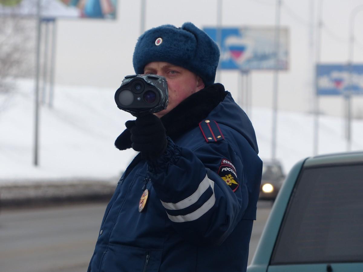инспектор с радаром