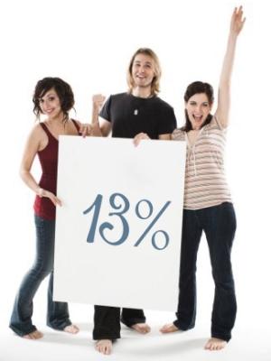 Возможность возвращения 13 процентов