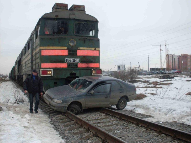 причины дтп на железнодорожном переезде