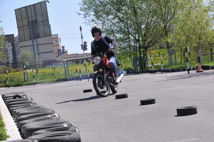 права на мотоцикл