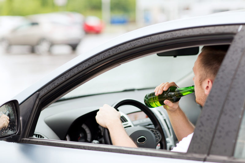 отстранение от вождения