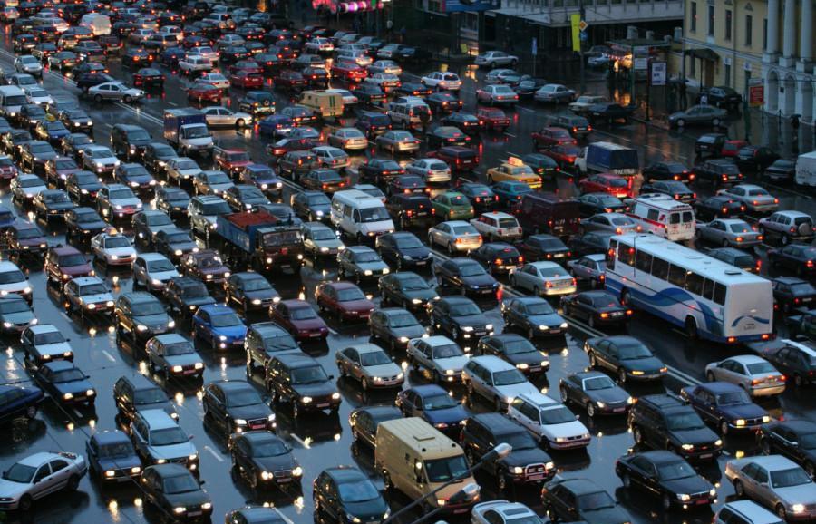 Выбор полосы движения для грузового автомобиля