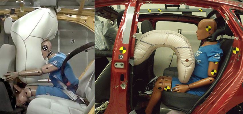 Кузов автомобиля системы пассивной безопасности